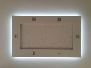 Plafonnier ruban LED